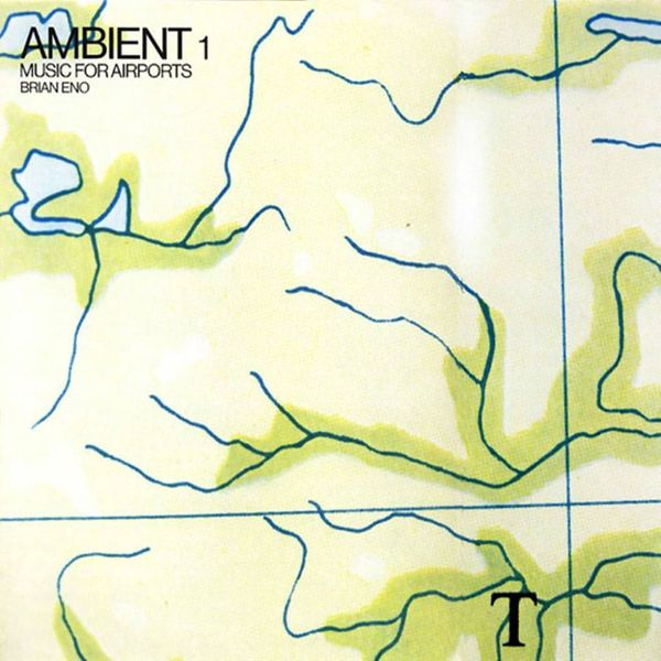 Album artwork of 'Ambient 1: Music for Airports' by Brian Eno