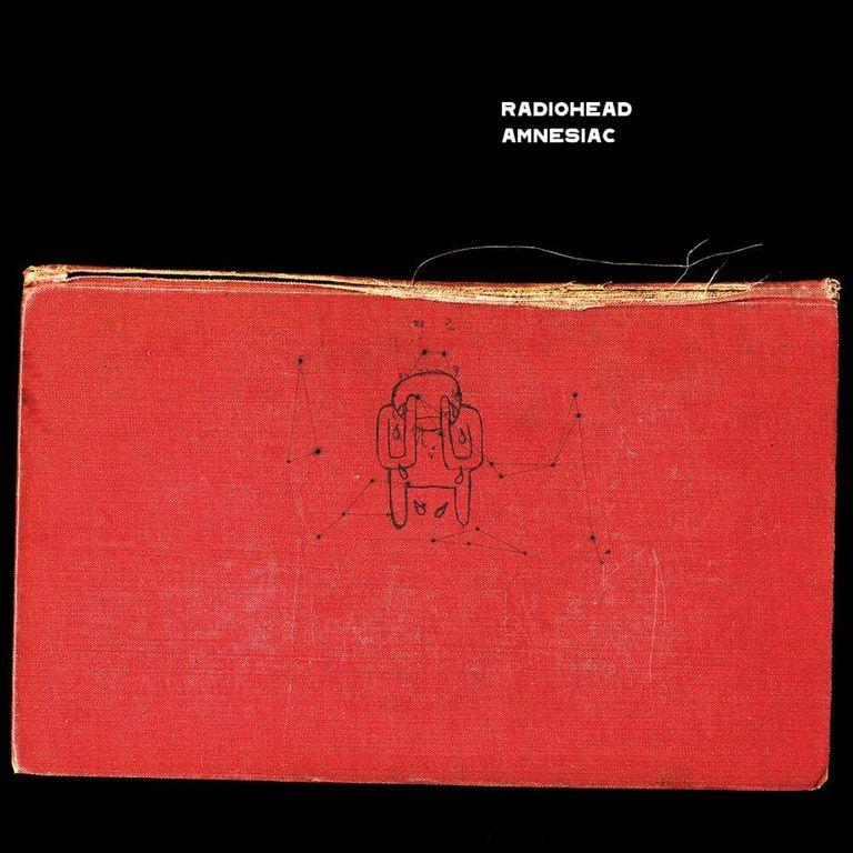 Album artwork of 'Amnesiac' by Radiohead