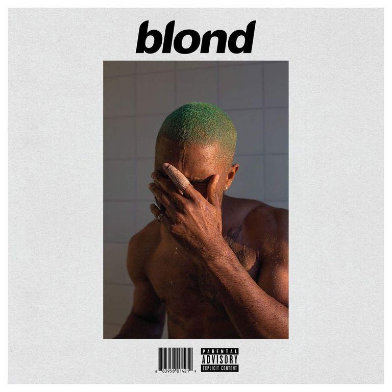 Album artwork of 'Blond' by Frank Ocean
