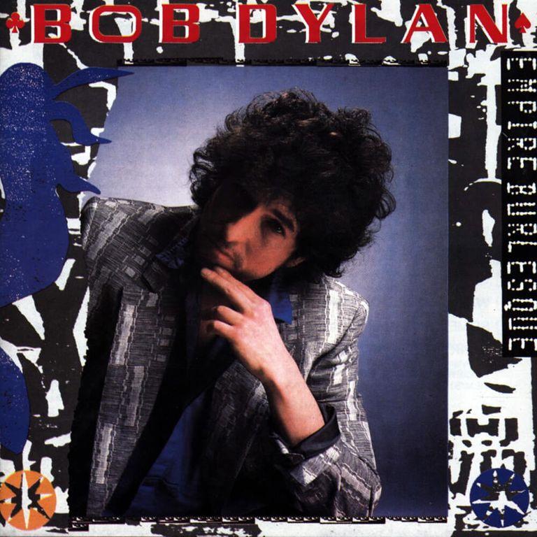 Album artwork of 'Empire Burlesque' by Bob Dylan