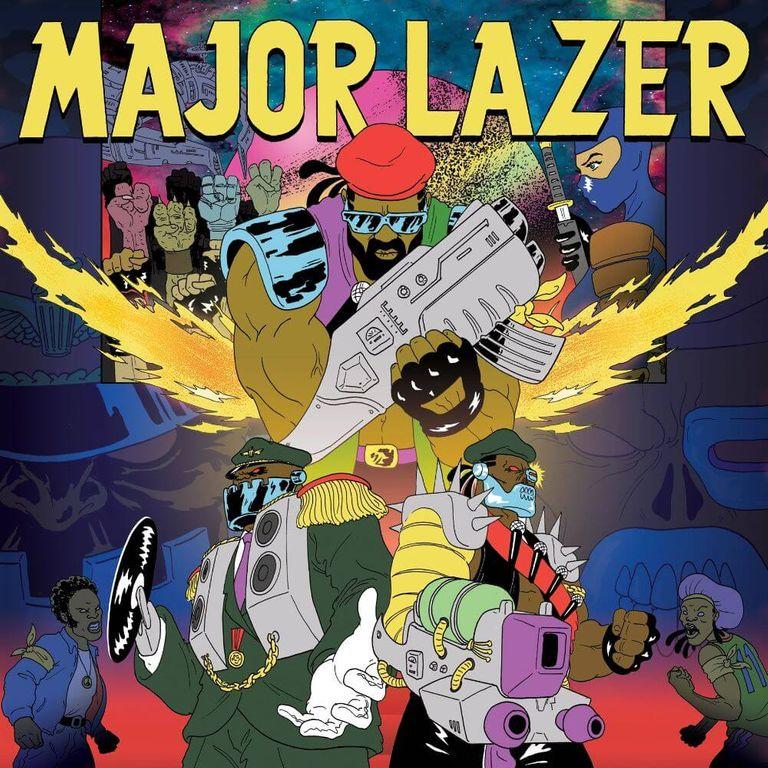 Album artwork of 'Free the Universe' by Major Lazer