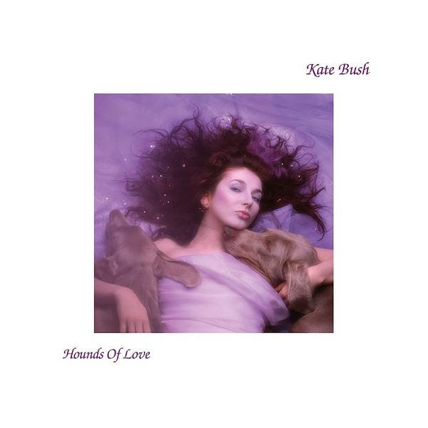 Album artwork of 'Hounds of Love' by Kate Bush