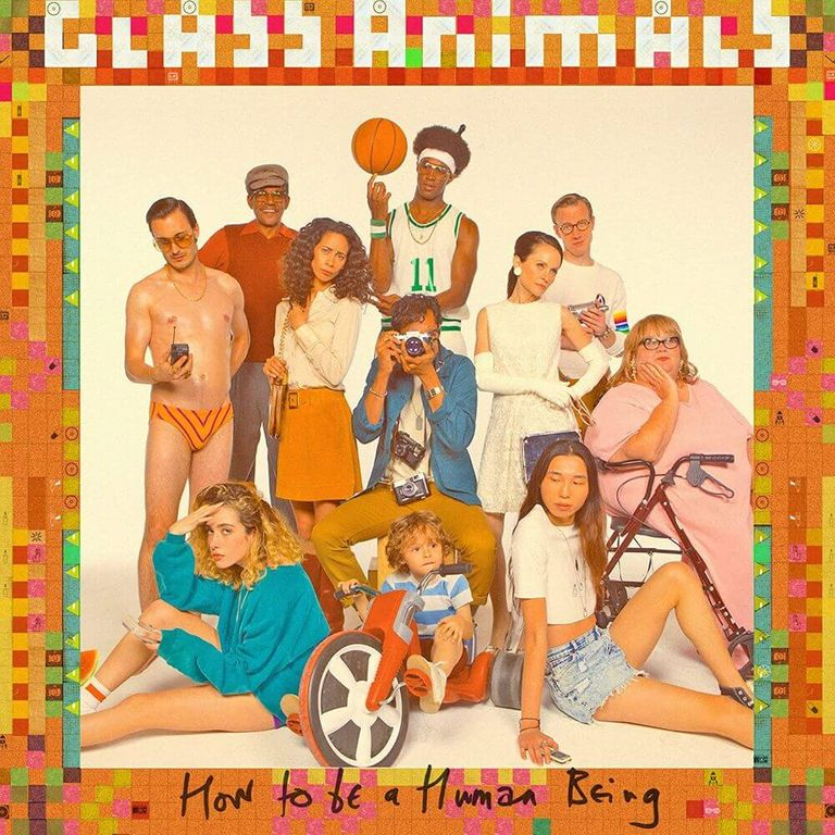 Album artwork of 'How to Be a Human Being' by Glass Animals