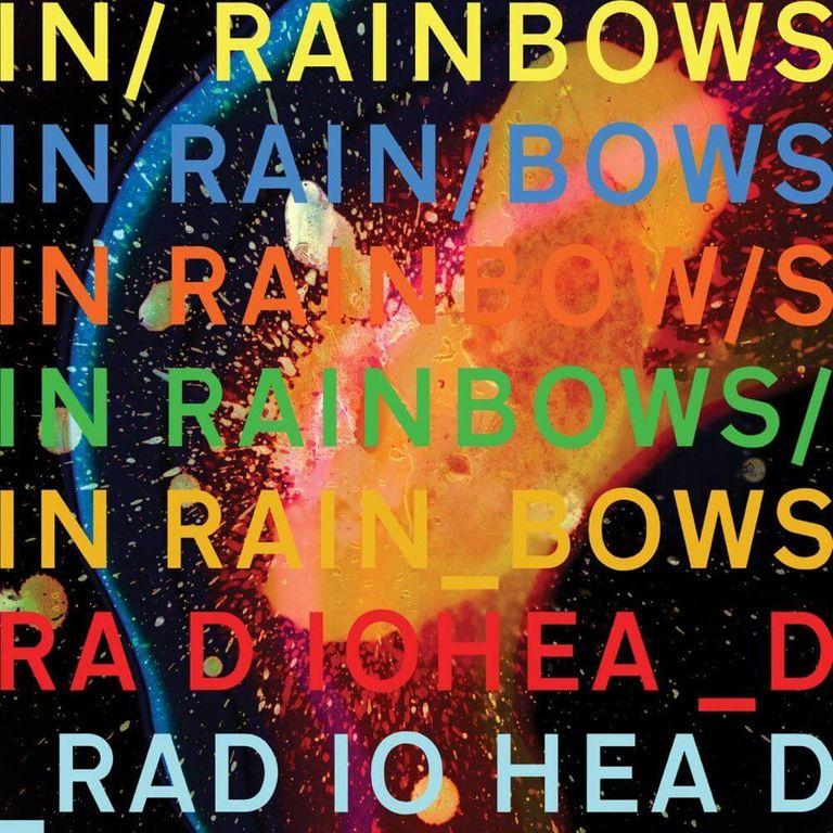 Album artwork of 'In Rainbows' by Radiohead