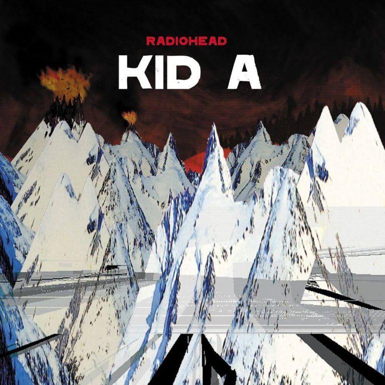 Album artwork of 'Kid A' by Radiohead