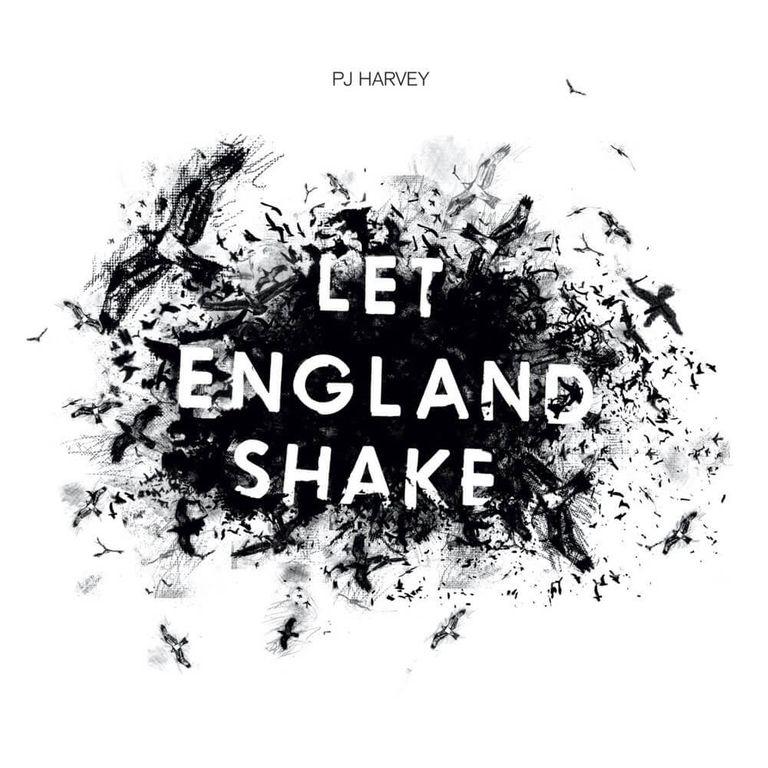 Album artwork of 'Let England Shake' by PJ Harvey
