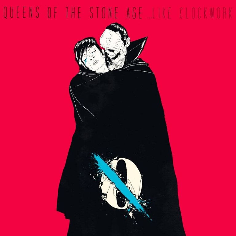 Album artwork of '...Like Clockwork' by Queens of the Stone Age