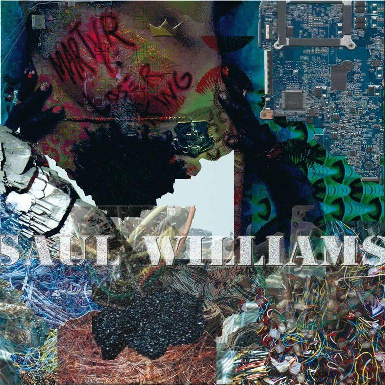 Album artwork of 'Martyr Loser King' by Saul Williams