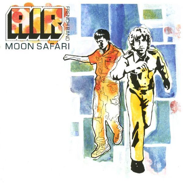 Album artwork of 'Moon Safari' by Air