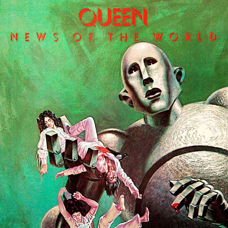 Album artwork of 'News of the World' by Queen