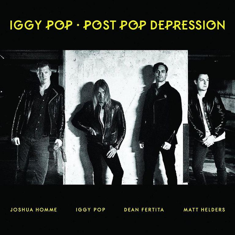 Album artwork of 'Post Pop Depression' by Iggy Pop