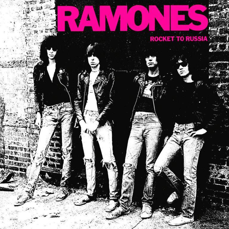 Album artwork of 'Rocket to Russia' by Ramones