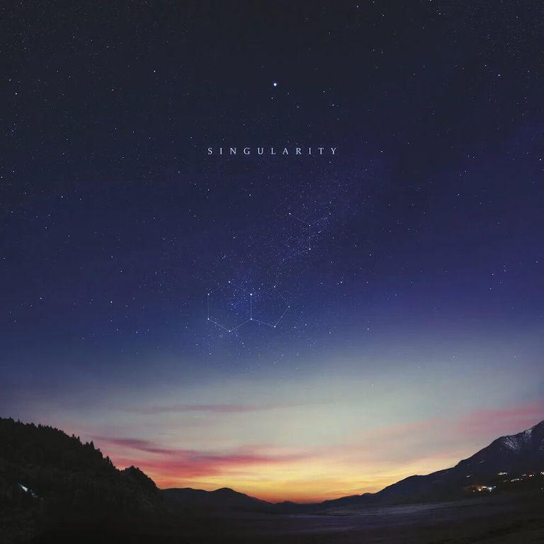 Album artwork of 'Singularity' by Jon Hopkins