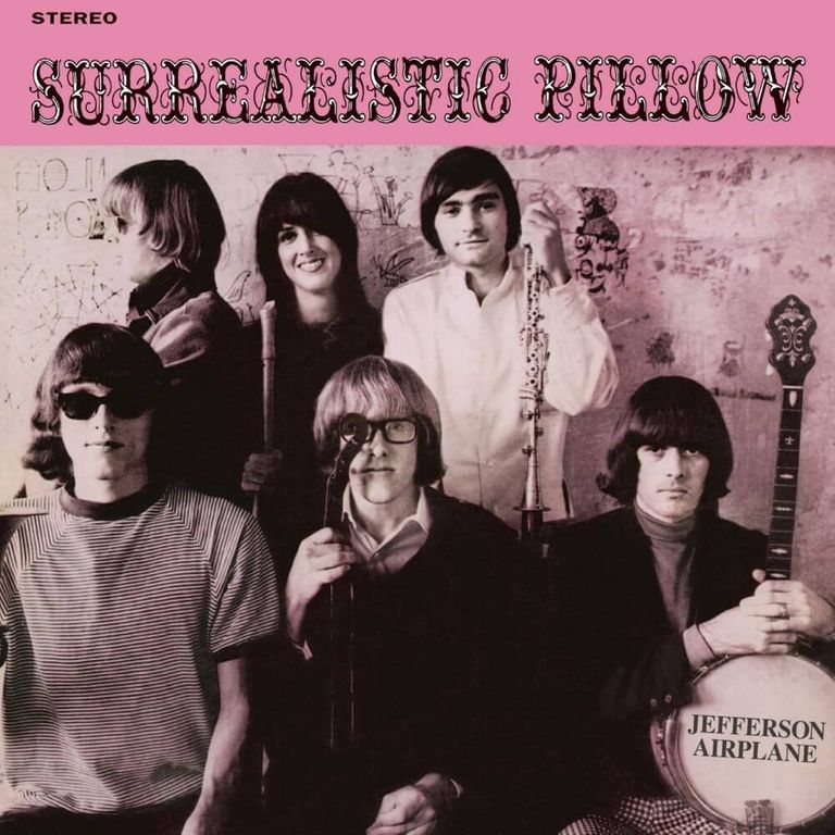 Album artwork of 'Surrealistic Pillow' by Jefferson Airplane