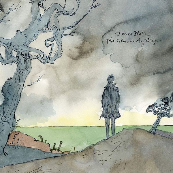 Album artwork of 'The Colour in Anything' by James Blake