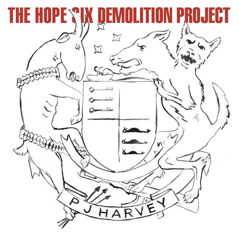 Album artwork of 'The Hope Six Demolition Project' by PJ Harvey