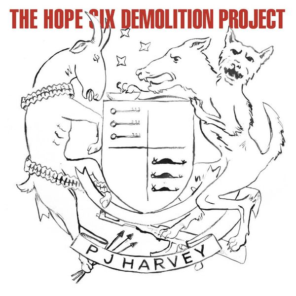 Album artwork of 'The Hope Six Demolition Project' by PJ Harvey