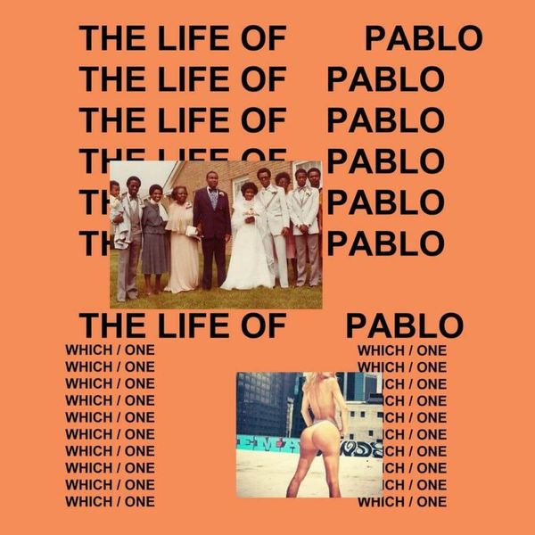 Album artwork of 'The Life of Pablo' by Kanye West