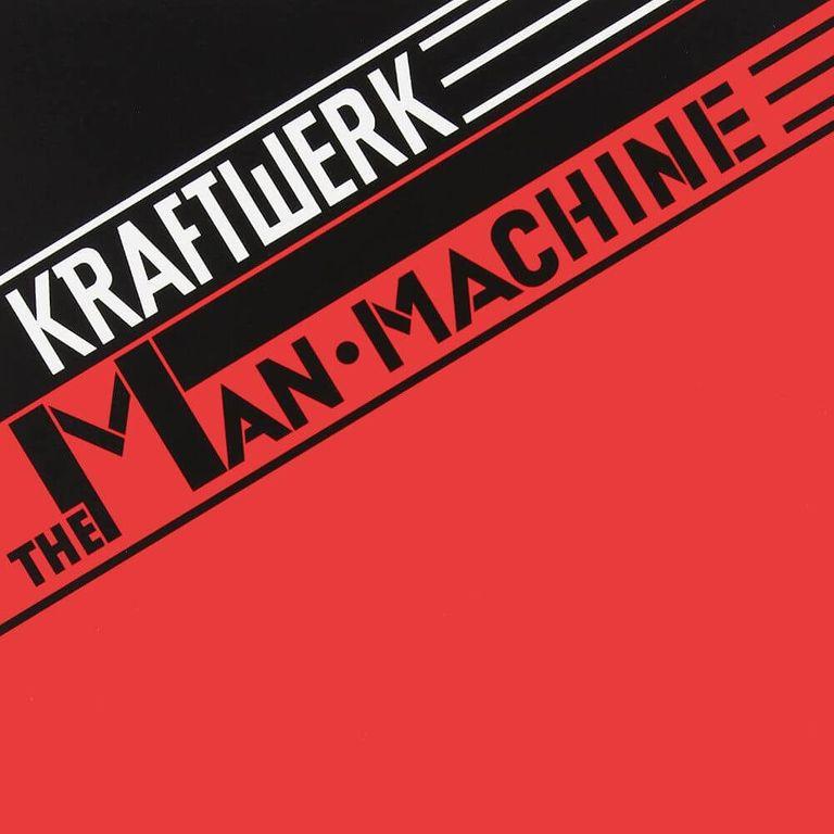 Album artwork of 'The Man-Machine' by Kraftwerk