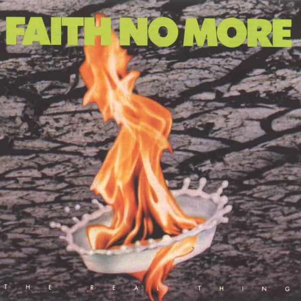 Album artwork of 'The Real Thing' by Faith No More