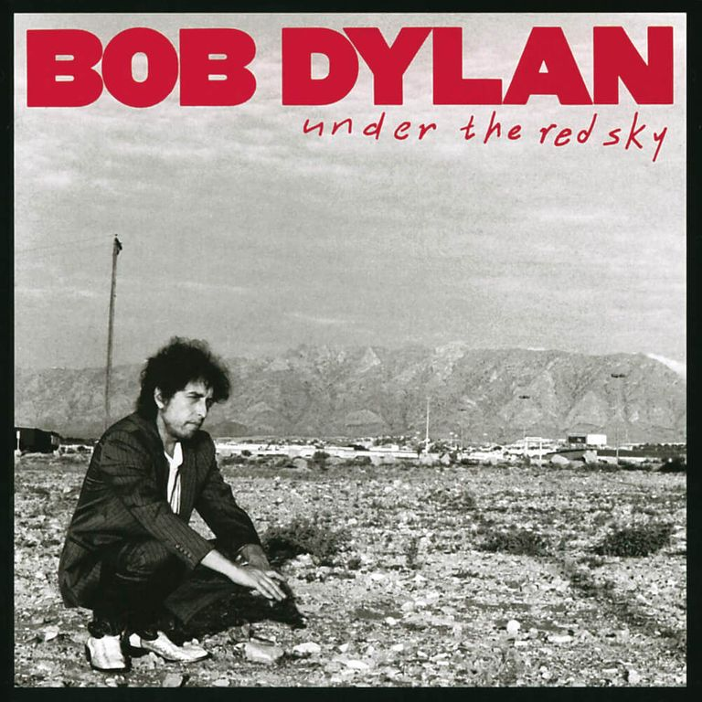 Album artwork of 'Under the Red Sky' by Bob Dylan