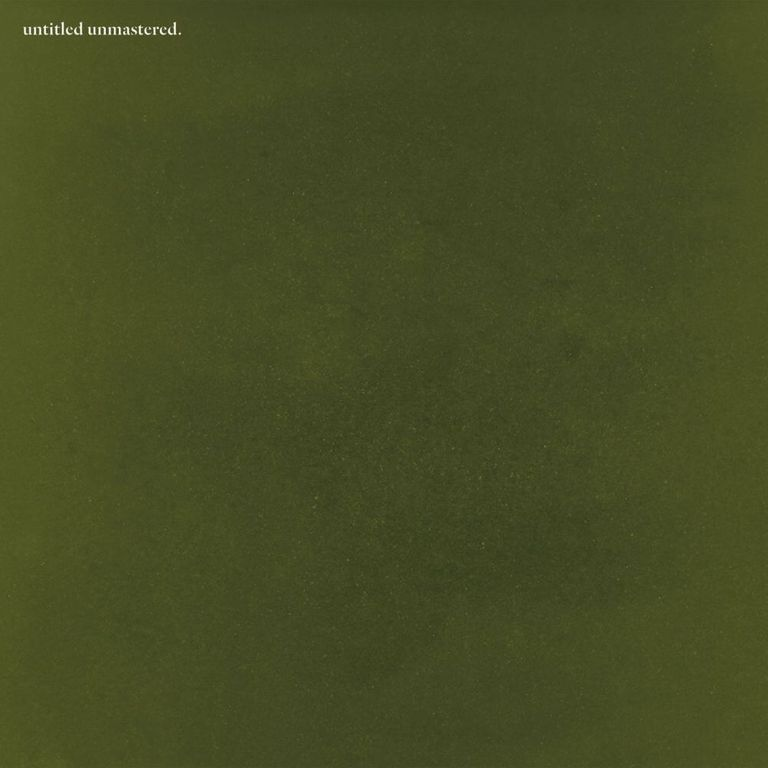 Album artwork of 'untitled unmastered.' by Kendrick Lamar