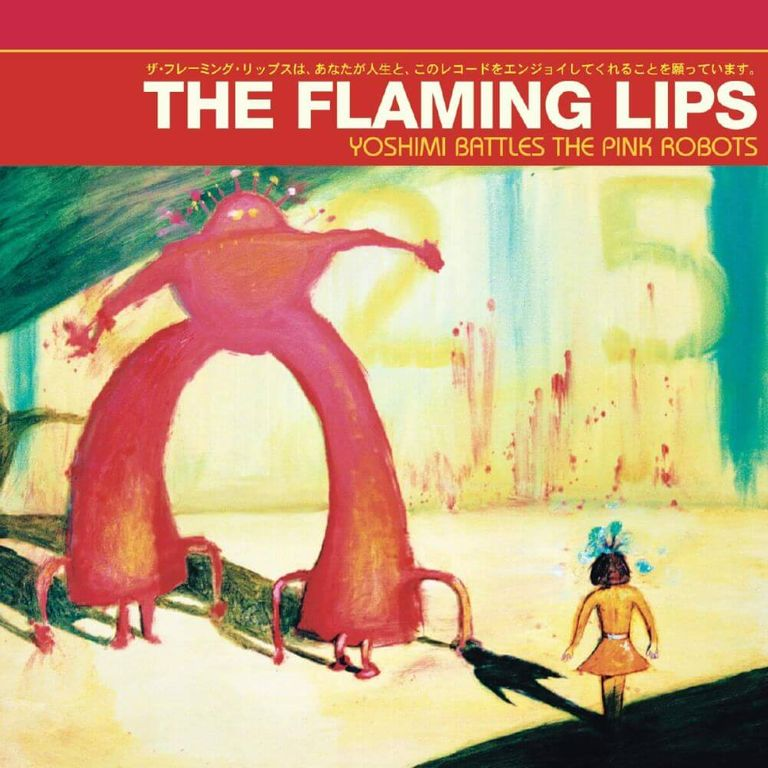 Album artwork of 'Yoshimi Battles the Pink Robots' by The Flaming Lips